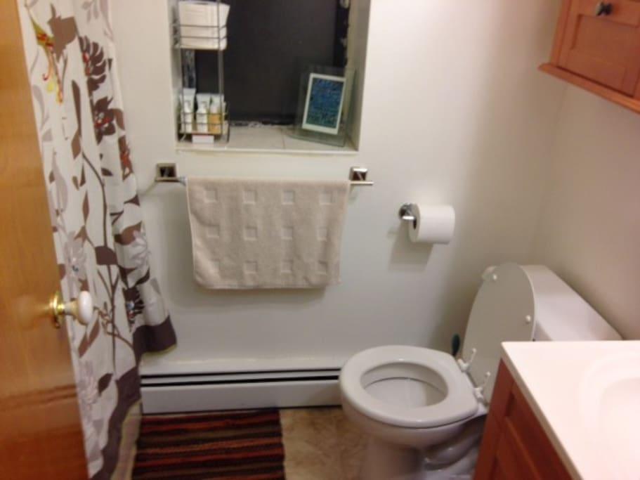 Front bathroom.