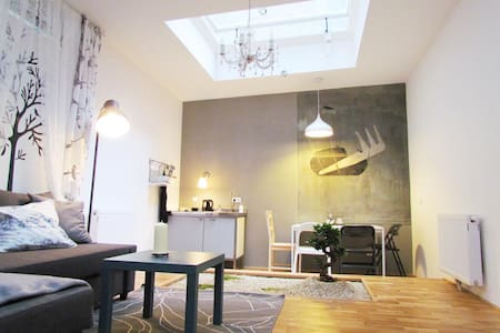 """Frisierzimmer Grey"" Art Loft - Vienna - Apartment"