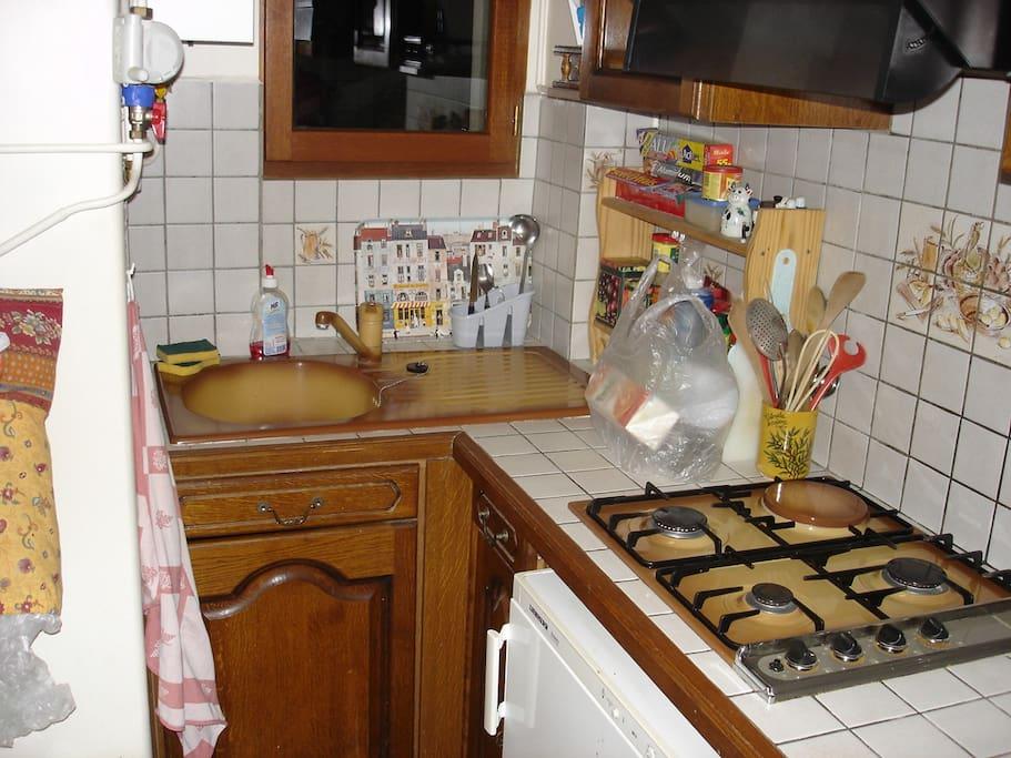 La petite cuisine.