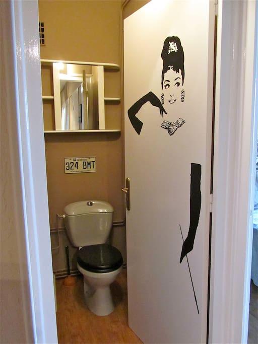 Toilettes indépendantes