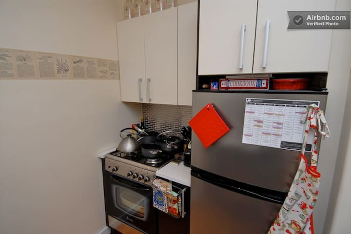 All the comforts of home with a fully equipped kitchen