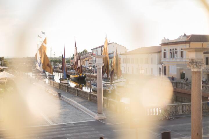 Porto Canale b&b-La magia del Canale in una stanza