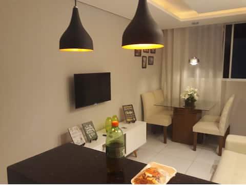 Apartamento aconchegante ótimo custo benefício
