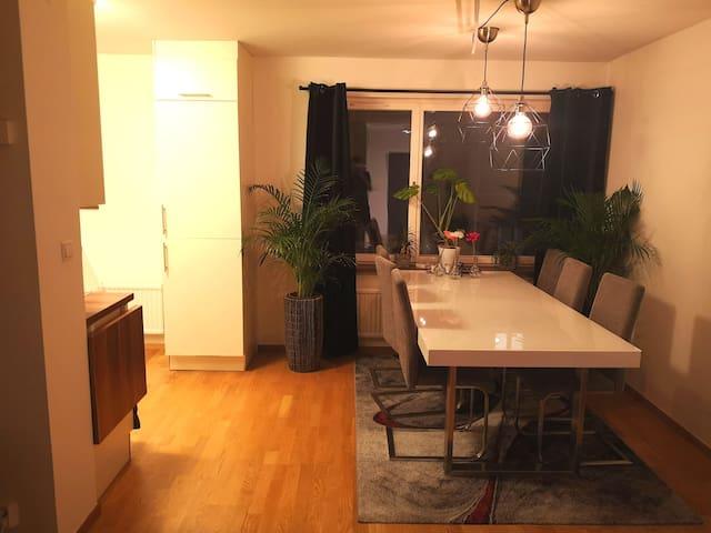Big 2 room flat in central Norrköping
