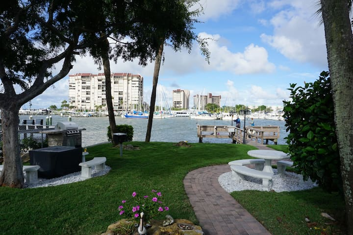 1st Floor Condo on Boca Ciega Bay