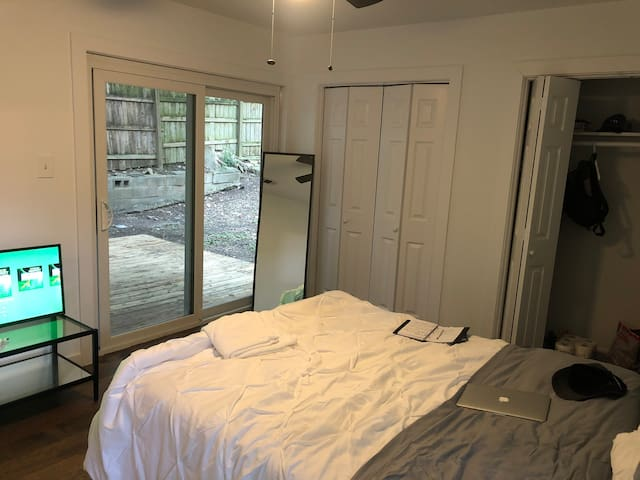 Cozy private 1bed/1bath near Downtown