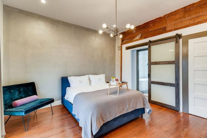 Contemporary Boutique Suites Downtown