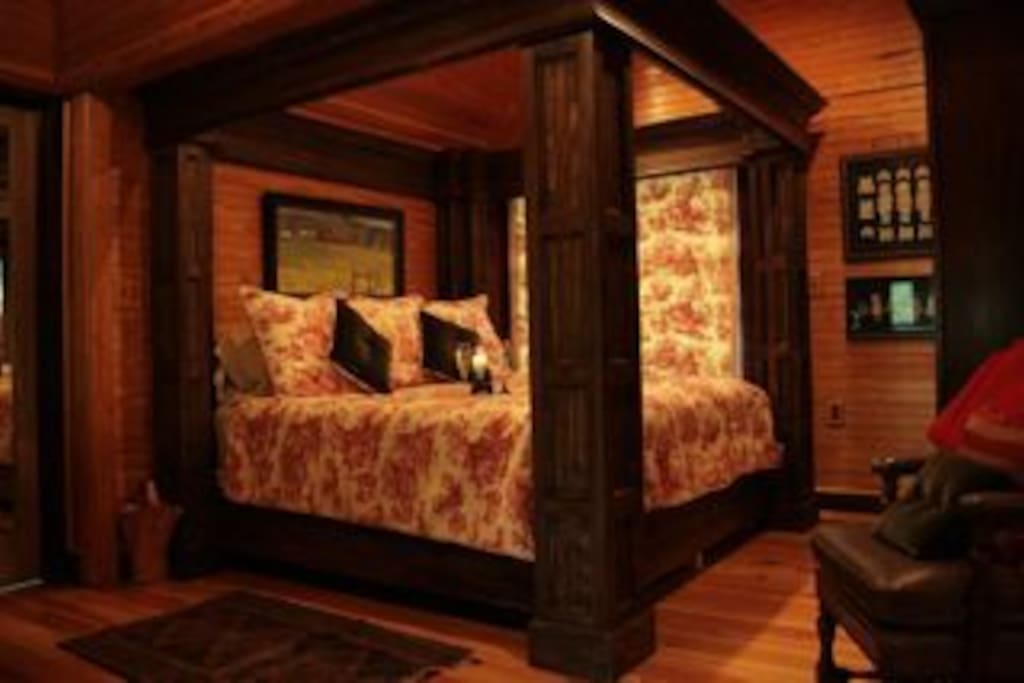 The King Size Bed Upstairs