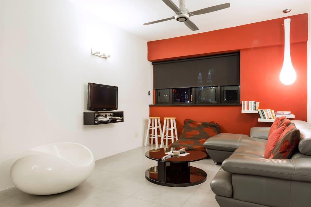 Designer furniture and lighting