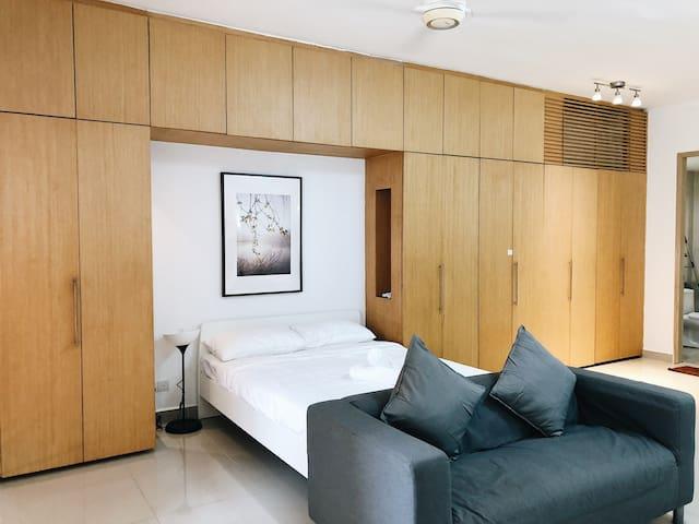 Cozy Studio for Romantic Getaway @ Ara Damansara
