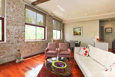Luxury Inner City Loft-Wifi & Pool - Redfern, Sydney - Apartment