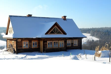 Traditional wooden house, Nowica