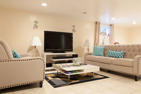A spacious suite in a quiet town. - Ardsley - Casa