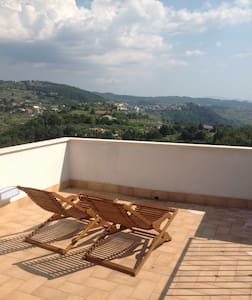 320 Panoramic view, roof terrace! - Arpino - 獨棟