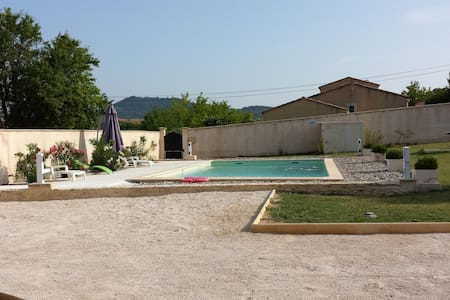 House in Provence with pool - Mormoiron