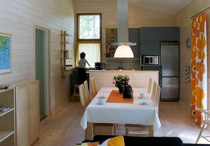 Modern cottage in the archipelago 4