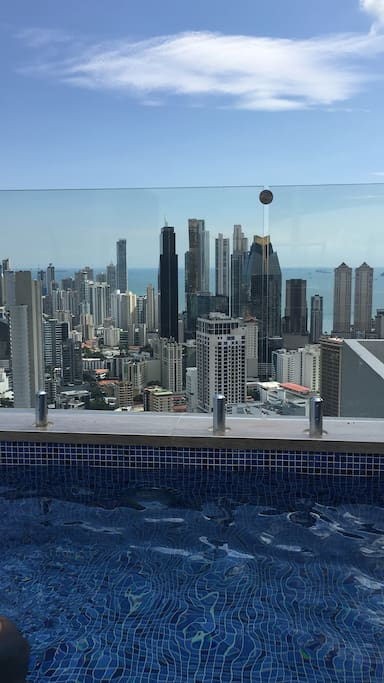 Rooftop Pool 46th floor