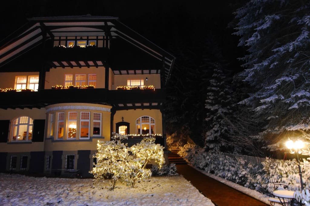 """Villa Liliengrund"" Winter"