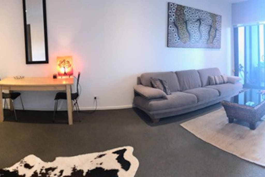 Open, airy and light filled. Clean and comfortable.                            ean