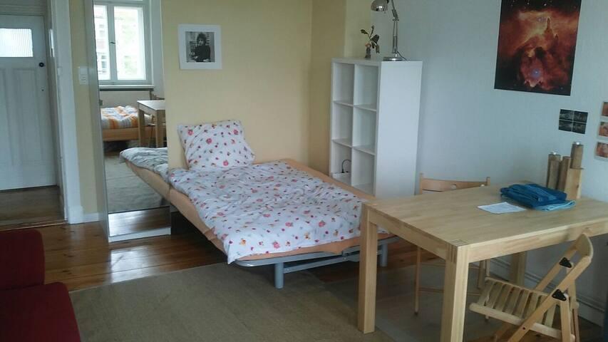 Bright Altbau Room in Neukölln - Berliini - Huoneisto