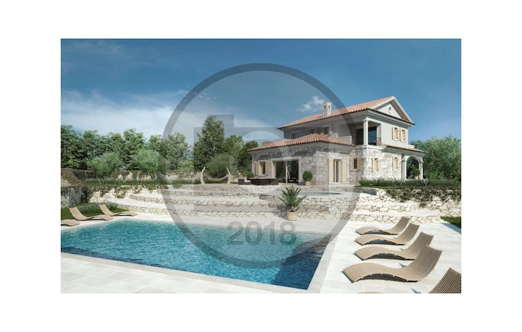 Holiday cottage with 4 bedrooms on 234 m² in Krk