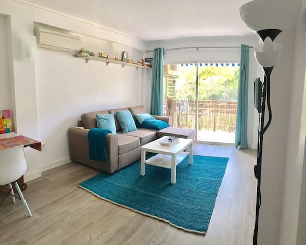 Cozy Flat  in turqoise! - Palma - Apartment