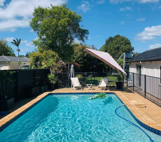 Fantastic family home with pool and room to move.