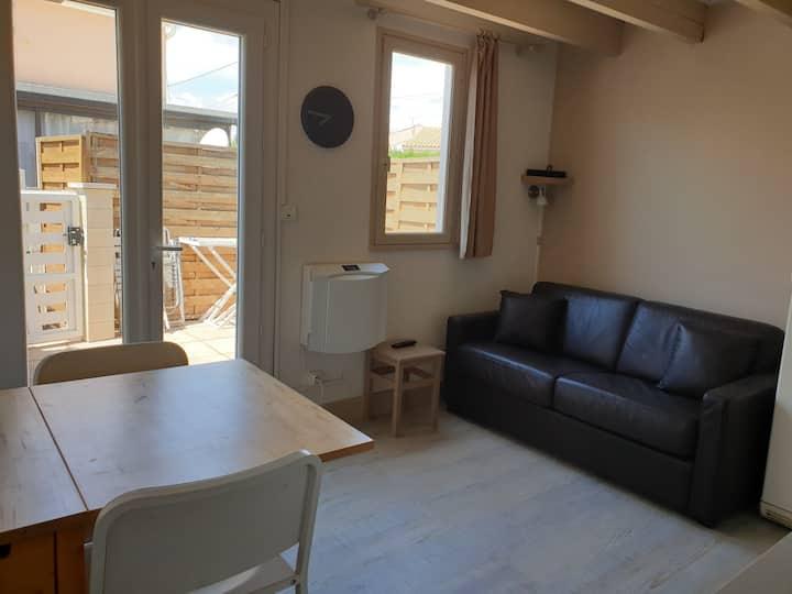 Maisonnette «côté lagune» n°61 Marseillan-plage
