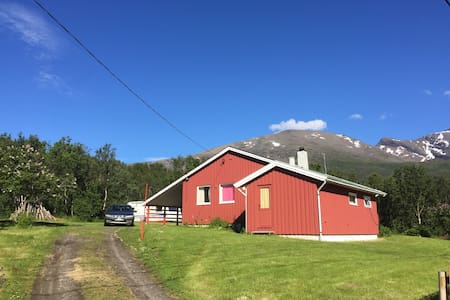 House by Lyngenfjord - Sauna near
