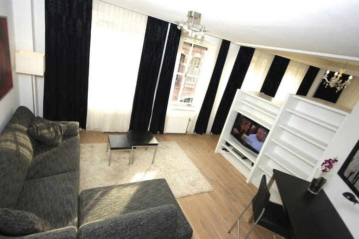 Royal apartment right in the heart of Kampen - Kampen - Daire