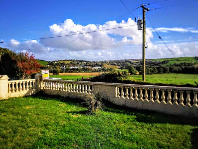in Blarney countryside cottage.  Garden 0.25 acre