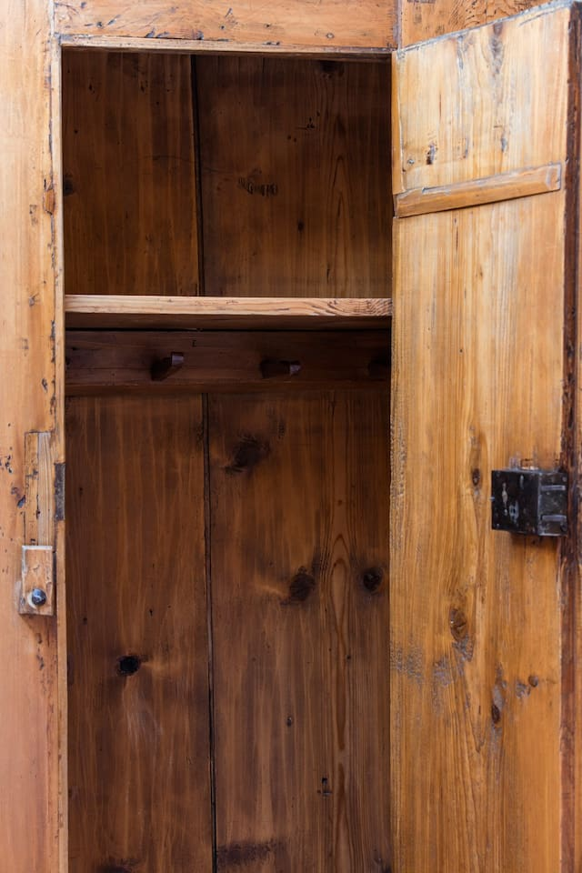 Living tradition - antique cupboard from the Valais.