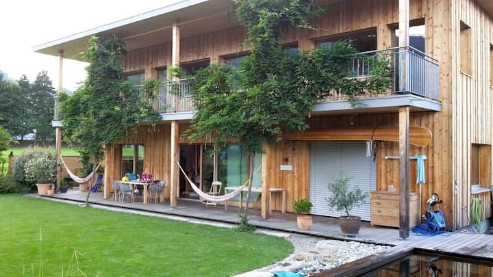 Studio in Villa mit Pool