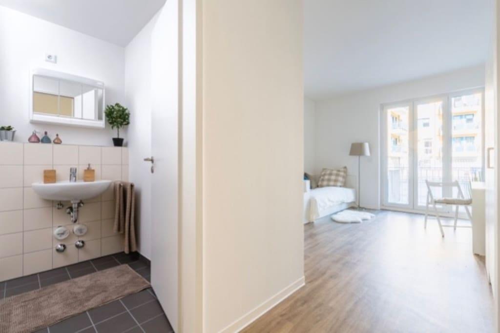 20 qm expo lux appartment wohnungen zur miete in for Badezimmer 20qm