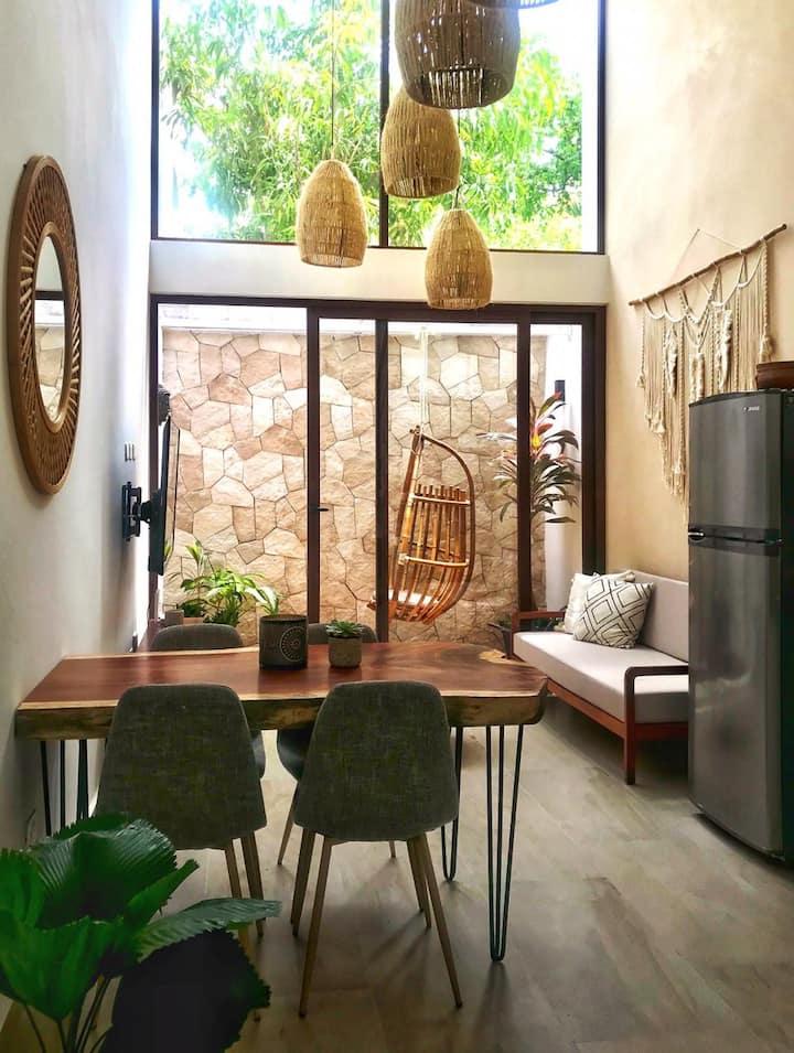 NEW! Boho-Chic Apartment in Playa del Carmen