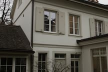 backyard house - flat in first floor