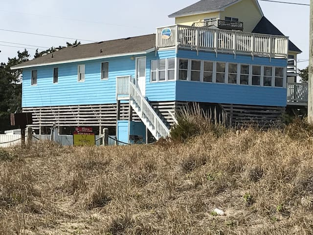 God's Blessings!  Oceanfront View, 4BR, Pool, Spa. - Avon - Casa