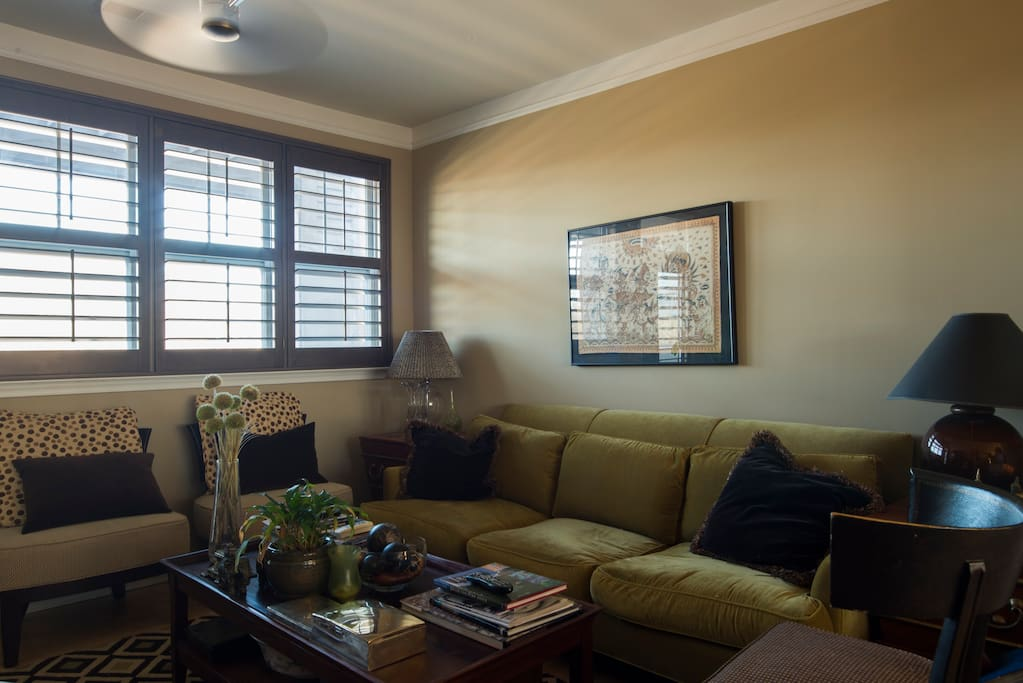 Super comfortable living area