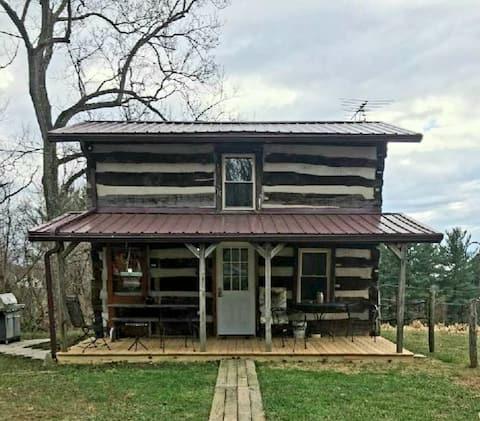 Walnut Cottage: una cabaña del siglo XVIII y una cabaña del 2020.