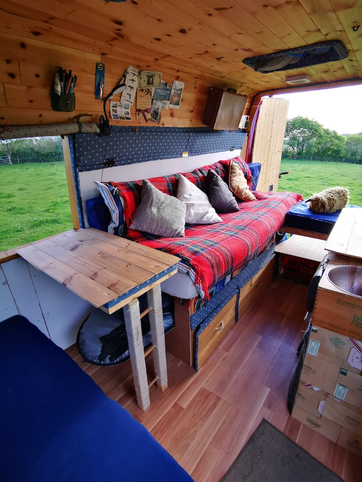 Beautiful Hand Crafted Campervan (of your dreams!)