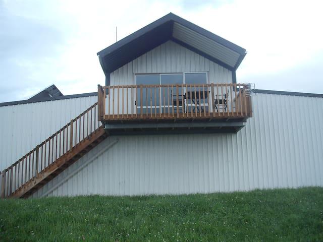 The Eco Barnhouse in the Country - Tauranga - Loft