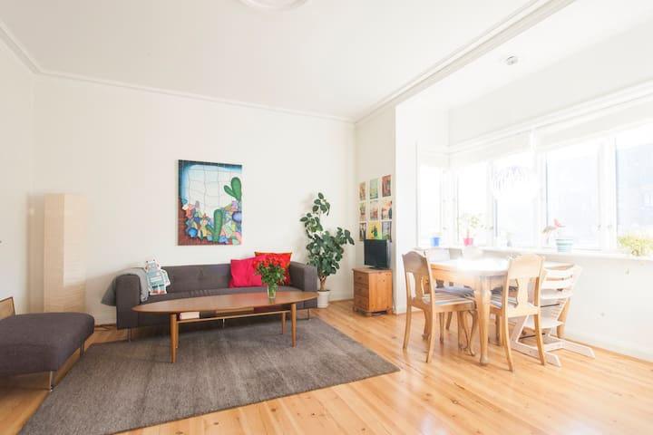 Large central family-friendly  - Aarhus - Appartement