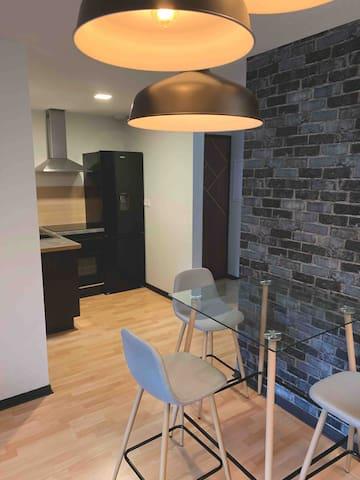Confortable appartement entièrement rénové