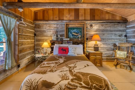 Rustic Backcountry Log Cabin