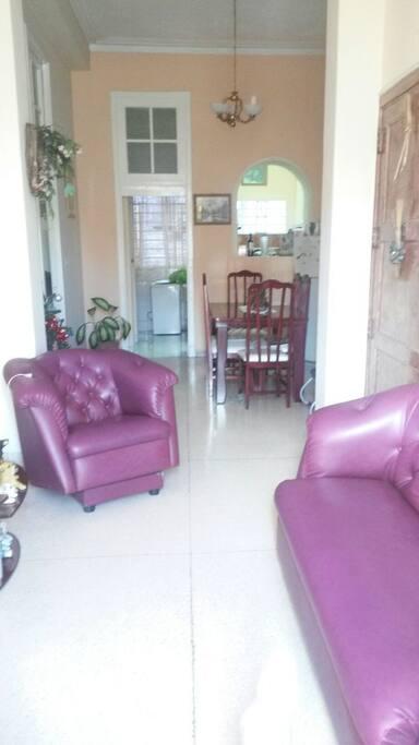 Sala común del apartamento.
