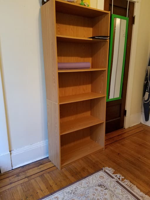 Storage and closet space