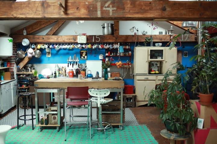 Artist's Loft near Paris