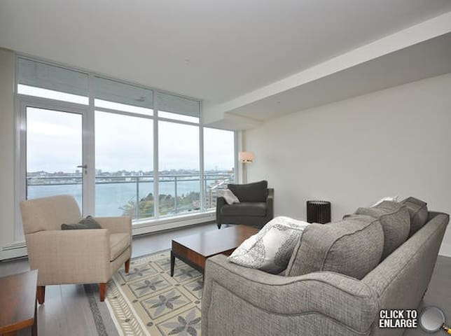 Elegant waterfront condo, stunning views - Dartmouth - Apartment