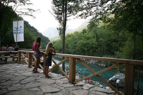Rafting ethno village and camp_riverside bungalow