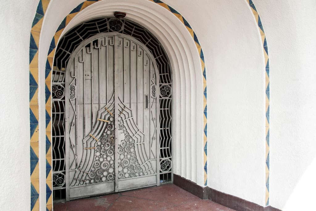 mexican art deco style